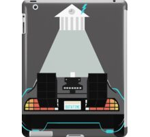Road to the clock tower iPad Case/Skin