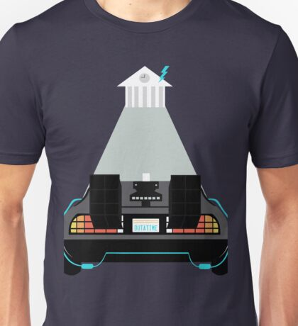 Road to the clock tower Unisex T-Shirt