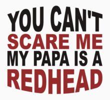 My Papa Is A Redhead Kids Tee
