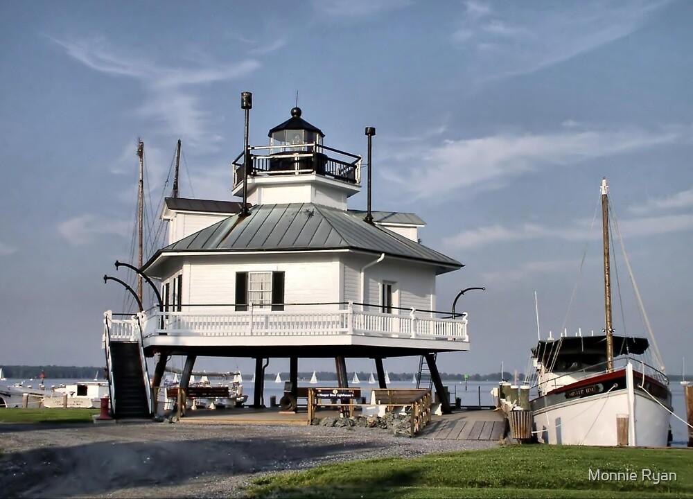 Hooper Strait Lighthouse by Monnie Ryan