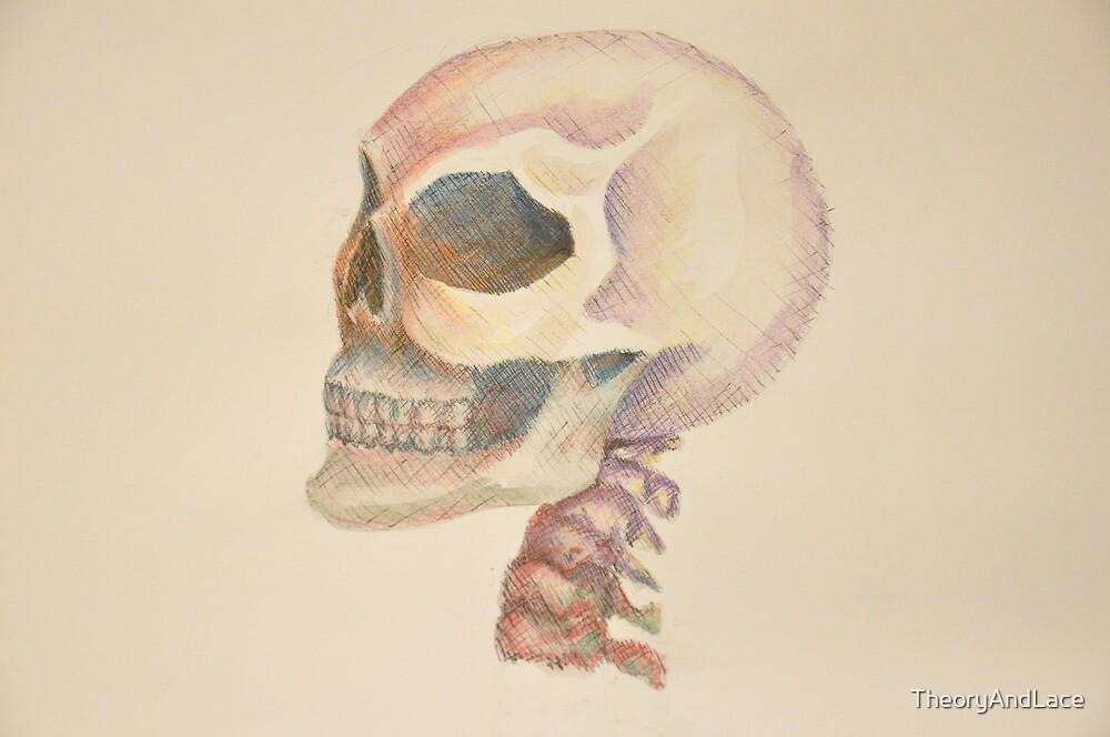 Skull Color by TheoryAndLace