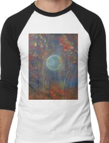 Autumn Whispers Men's Baseball ¾ T-Shirt
