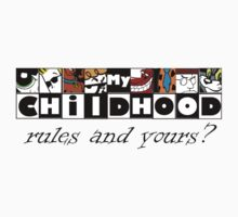 My Cartoon Childhood tee by liezel921