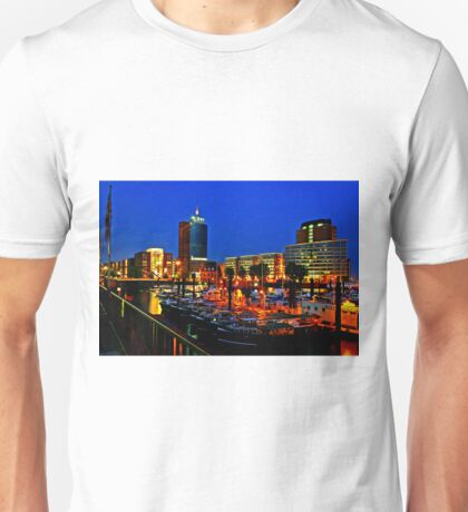 Blue Hour at Kehrwieder Spitze Unisex T-Shirt