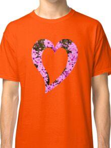 Pink Phlox Flower Art Classic T-Shirt