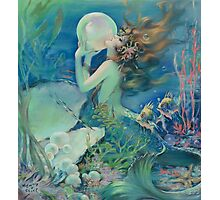 The Mermaid by Henry Clive Photographic Print