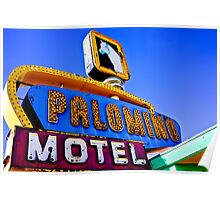 Route 66 Palomino Motel Poster