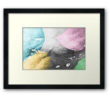 Shades of Ice 2 Framed Print