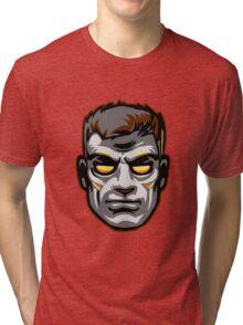 GOD MODE HEAD Tri-blend T-Shirt