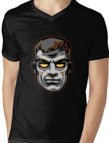 GOD MODE HEAD Mens V-Neck T-Shirt