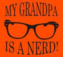 My Grandpa Is A Nerd Kids Tee