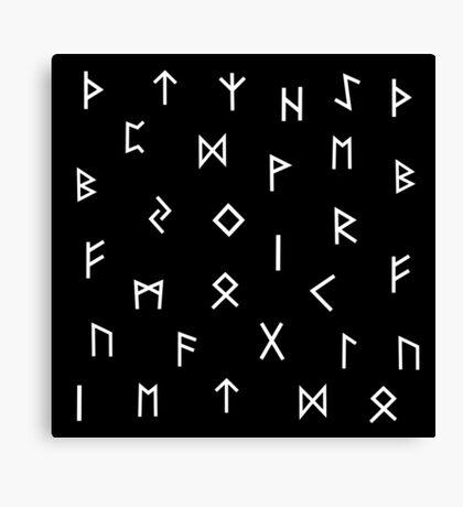 Viking Runes 2  Canvas Print