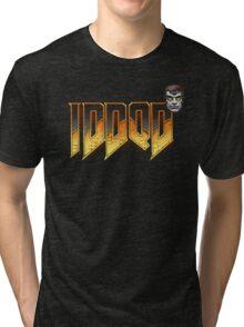 IDDQD GOD MODE 2 Tri-blend T-Shirt