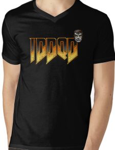 IDDQD GOD MODE 2 Mens V-Neck T-Shirt