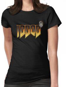 IDDQD GOD MODE 2 Womens Fitted T-Shirt