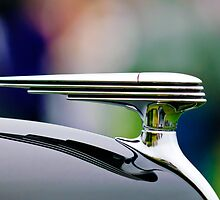 1937 Ford Model 78 Darrin Convertible Hood Ornament by Jill Reger