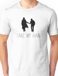 Sherlock - Take My Hand Unisex T-Shirt