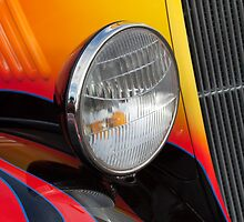 1933 Ford Coupe Hot Rod Headlight by Jill Reger