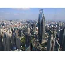 shanghai bird's view Photographic Print