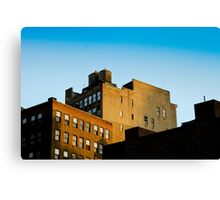 NYC Building Water Towers Canvas Print