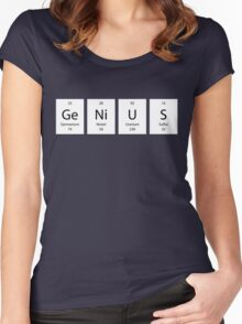 ElemenTees: GeNiUS Women's Fitted Scoop T-Shirt