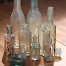 old bottles by sharon wingard