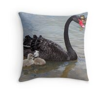 Ponder Bay Swans. Throw Pillow