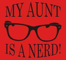 My Aunt Is A Nerd Baby Tee
