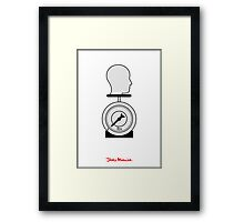 Jerry Maguire - Minimal Poster Framed Print