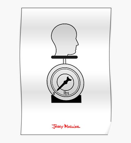 Jerry Maguire - Minimal Poster Poster