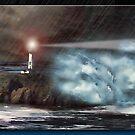 The Lighthouse by Richard  Gerhard
