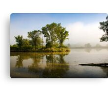 Island Trees Landscape Canvas Print