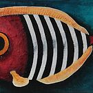 The Stripe Fish by StressieCat