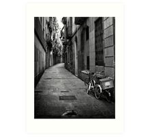 Bikes - Firenze street Art Print