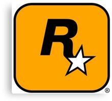 Rockstar Games : Logo Canvas Print
