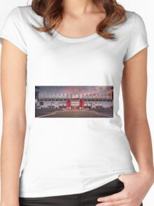 The Riverside Stadium, Middlesbrough Women's Fitted Scoop T-Shirt