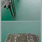 Jetty on green waters by athex