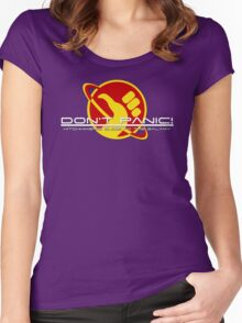Hitchhiker's Guide Space Age Women's Fitted Scoop T-Shirt
