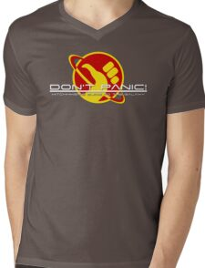 Hitchhiker's Guide Space Age Mens V-Neck T-Shirt