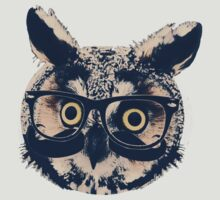 hipster owl by TianaRapley2
