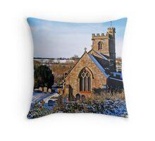 St John the Baptist Church ~ Broadwindsor Throw Pillow