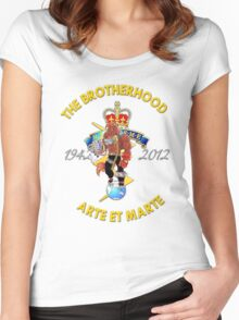 The Brotherhood 70th Annerversary Women's Fitted Scoop T-Shirt