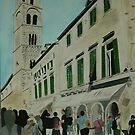 Dubrovnik Street Scene by Michael Birchmore