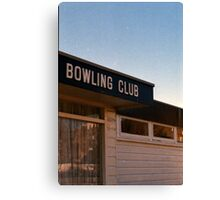 I Got Myself Some Bowling Shoes Canvas Print
