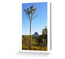 Glasshouse Mountain Greeting Card