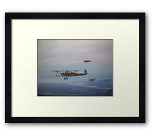 Trusty's over the bay Framed Print
