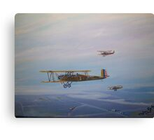 Trusty's over the bay Canvas Print