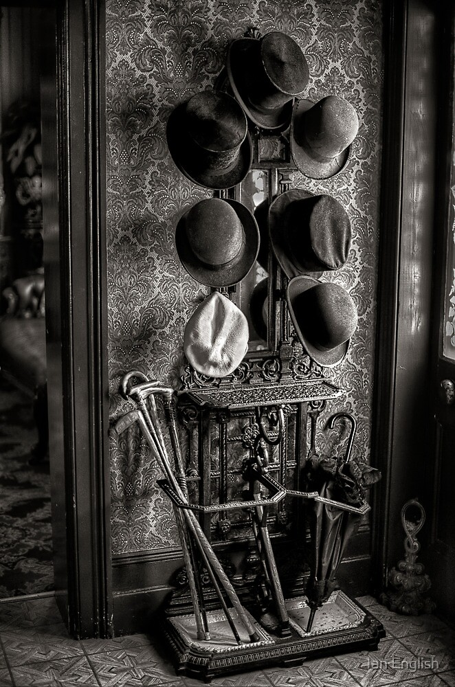 Hat Stand - Monte Cristo Junee NSW by Ian English
