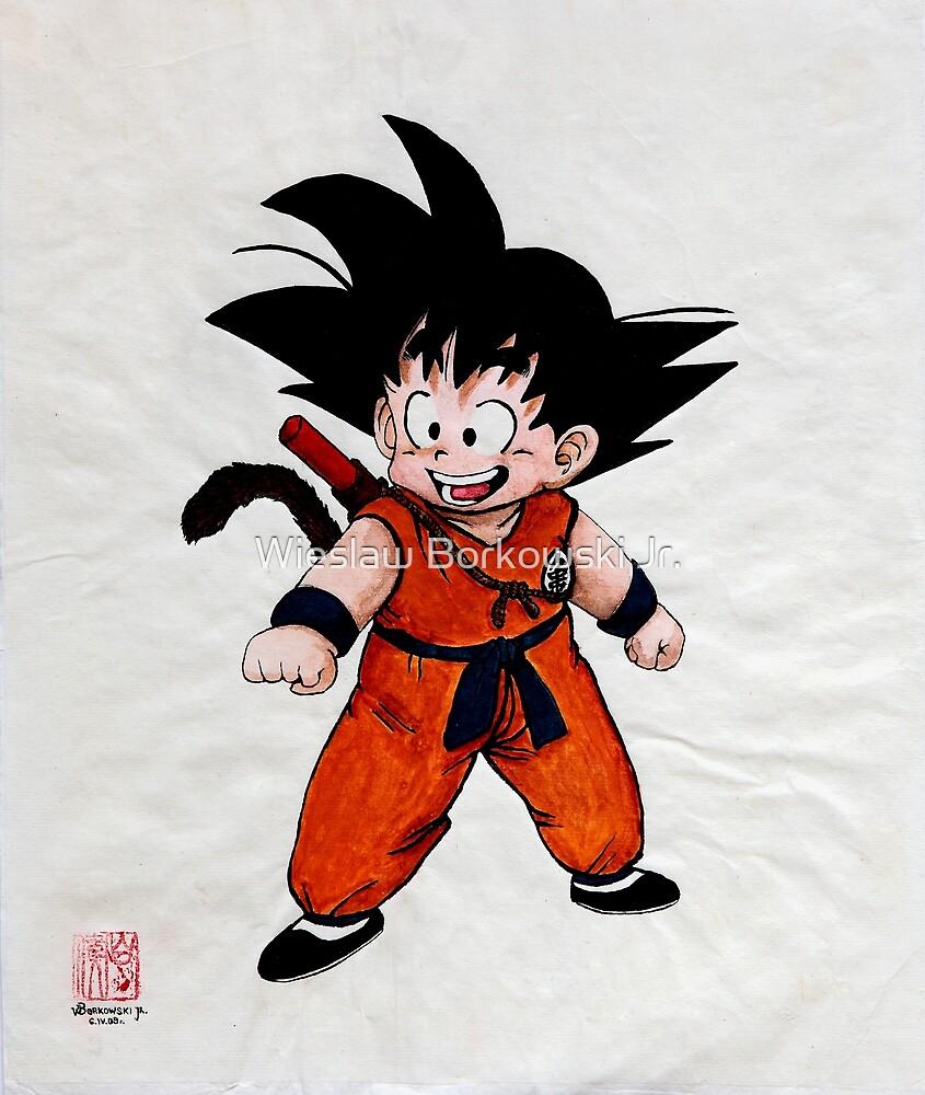 Son Goku by Wieslaw Borkowski