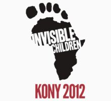 Invisible Children tee by rhiarhiajones